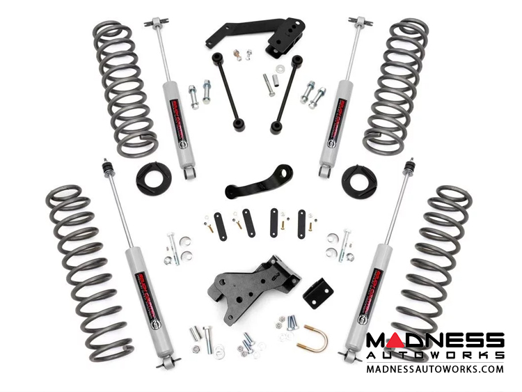 "Jeep Wrangler JK Unlimited Suspension Lift Kit - 4"" Lift"